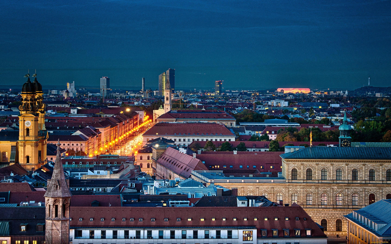 Обои мюнхен, здания, крыши, Munich, Germany, германия. Города foto 9